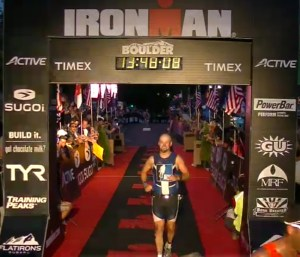 Ironman Boulder Finish