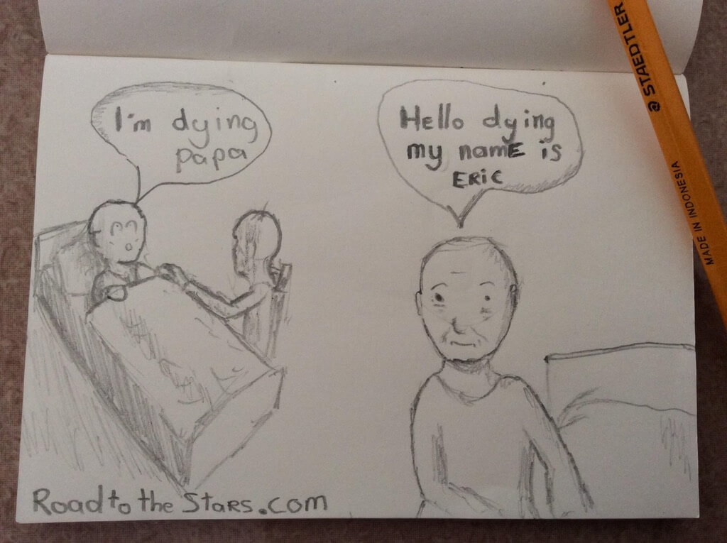 Made a quick comic while traveling