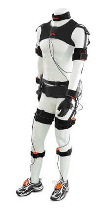 xsens full body motion capture tracking