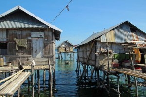 Sea gypsys, Flores, Indonesia
