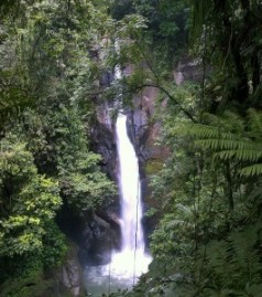 Curug Pi'it Waterfall