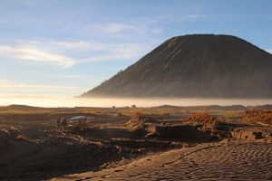 Mount Bromo volcano, Central Java