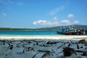 Beautiful Peucang Island