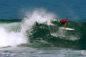 Surfing at Tanjung Layar, Ujung Kulon Nationa Park
