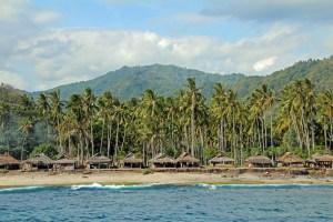 North Senggigi coast, Lombok