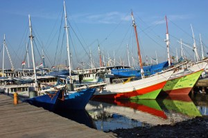 Makassar old port, South Sulawesi