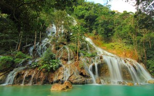 Lapopu waterfall, Sumba, Indonesia