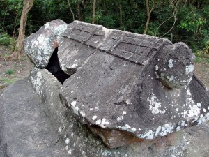 Sarcophagus at Aik Renung megalithic site 2