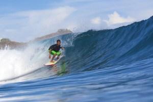 Surfing at Supersucks, Sumbawa, Indonesia