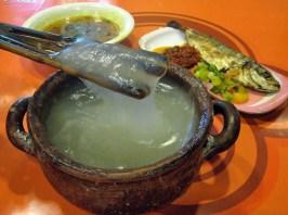 Papeda sago porridge, a staple in West Papua