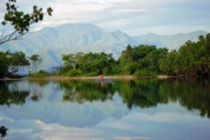 Mount Arfak with Anggi Lake in the foreground