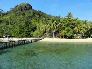 Cubadak Island, Bungus Bay, Sumatra