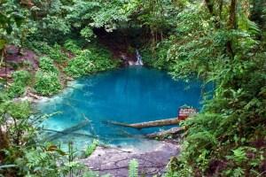 Danau Kaco (Blue Lake) near Lempur village, Kerinci