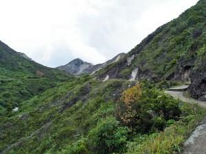 Sibayak volcano trek, Sumatra, Indonesia