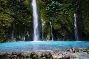Sibolangit (Two Colour) Waterfall