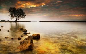 Mali beach, Alor Archipelago, Indonesia