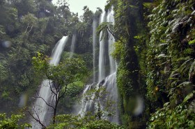 Gorgeous Sekumpul Waterfall in north Bali, Indonesia