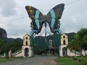Bantimurung National Park entrance