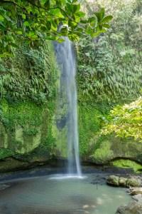 The beautifull Pinaras waterfall in Sulawesi, Manado, Indonesia