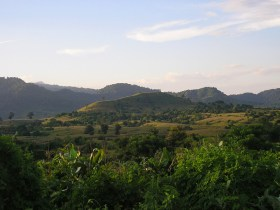 Sumbawa Island countryside