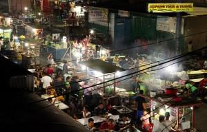 Kupang night market for cheap, tasty eats