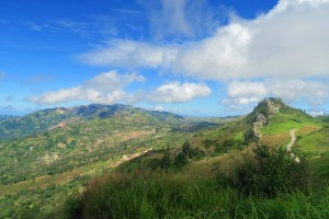 Oenlasi hill country, West Timor