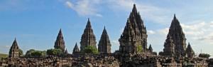 The ancient wonder of Prambanan Temple, Yogyakarta, Central Java