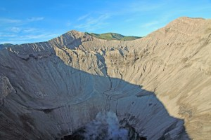 Looking into Bromo's volcanic heart