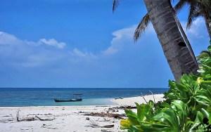 Typical Karimata Island beach