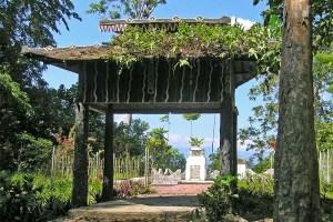 Japanese memorial at Gunung Meja, Manokwari, West Papua