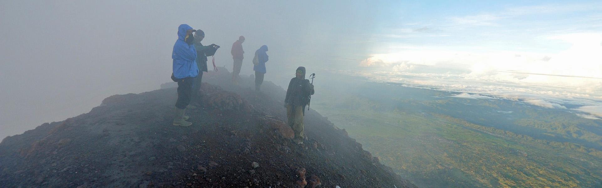 Mt Kerinci summit, Sumatra, Indonesia