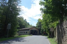 Covered bridge on the way down to Charlemont