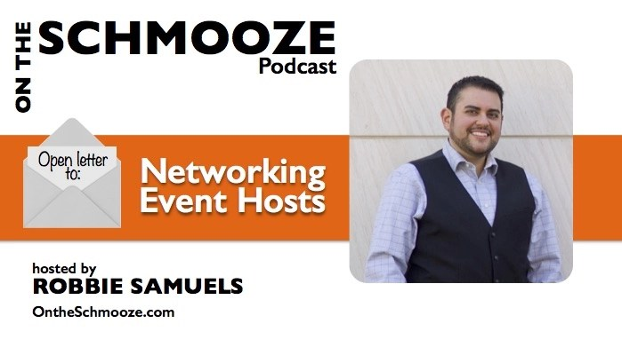 Open letter to Networking Event Hosts