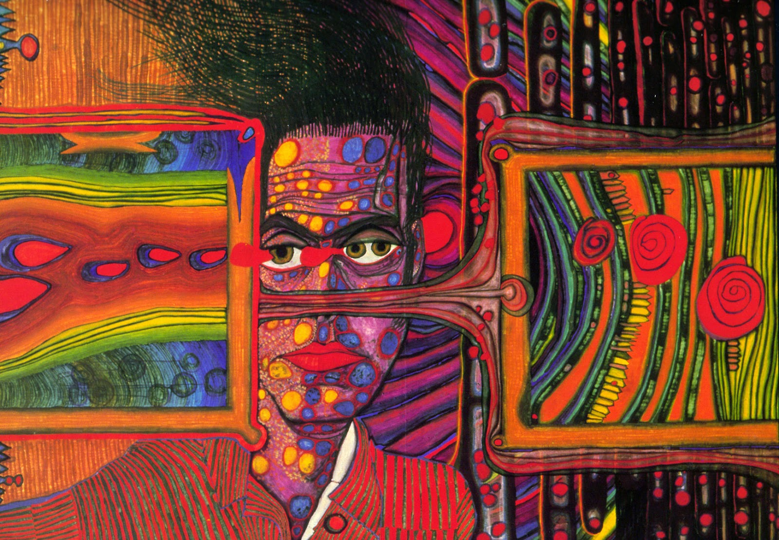 4 paintings by friedensreich hundertwasser that depict the end of something rob cotton. Black Bedroom Furniture Sets. Home Design Ideas