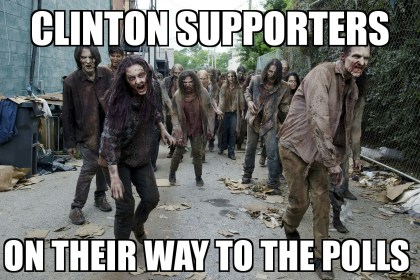 clinton zombies