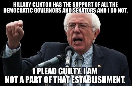 Bernie Sanders, How Do You Plead?