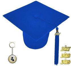 Winsome Diploma Matte Royal Blue Graduation Cap Elementary School Matte Royal Blue Graduation Cap Elementary Blue Graduation Cap Card Box Blue Graduation Cap