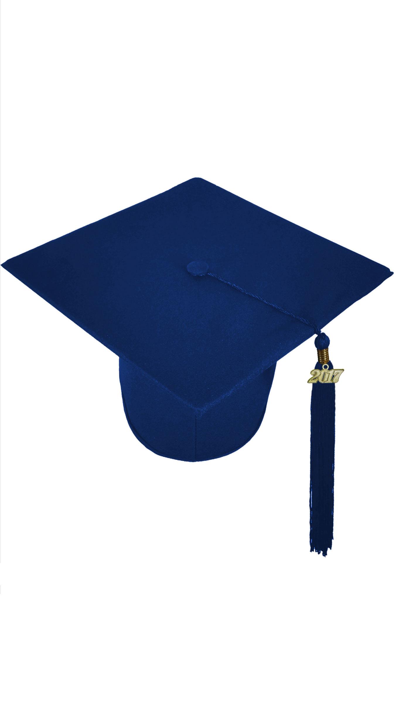 Fullsize Of Blue Graduation Cap