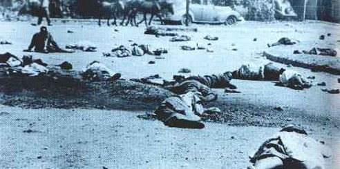 Victims of the 1960 Sharpeville Massacre in South Africa