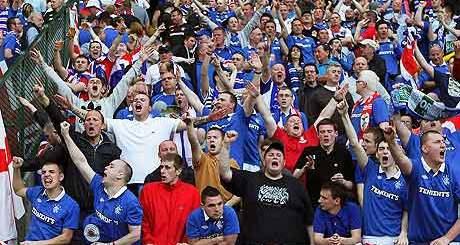 Rangers-fans