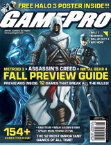 New GamePro Magazine Cover Painting