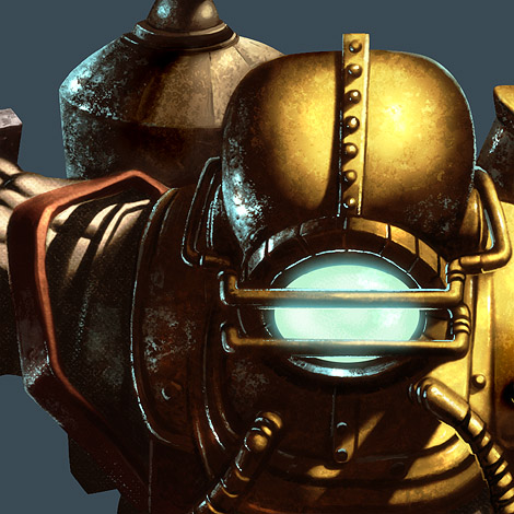 Photoshop Tutorial : Bioshock Videogame Digital Painting - Highlights - Details
