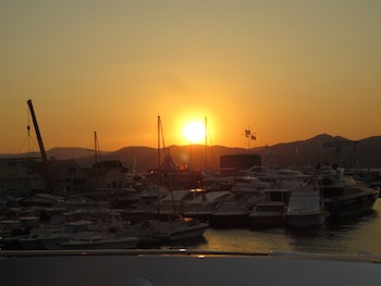 Saint Tropez Sunset