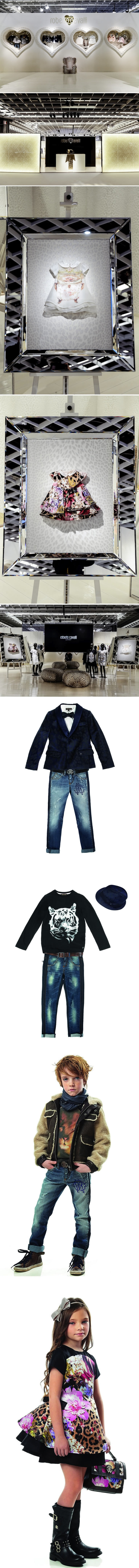 Roberto Cavalli Junior and Newborn Fall-Winter 2013-14 Collection