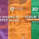 Imperdível: Fórum SPED em BH, Goiânia, Recife, Curitiba e Manaus