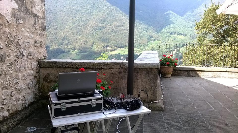20-08-2016 – DJ per Wedding Party @ Castelbrando – Cison di Valmarino (TV) – DJ Roberto Sorbara