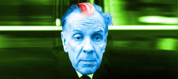 Jorge Luis Borges In The Night Garden