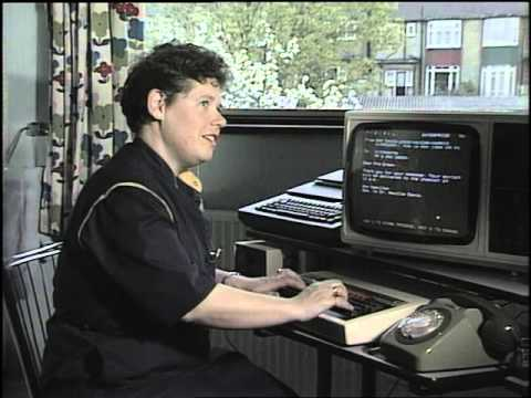 How to Access the Internet in the 80's