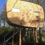 My Independent on Sunday Review of Brockloch Treehouse