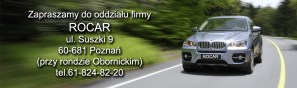 baner Rocar Poznan adres